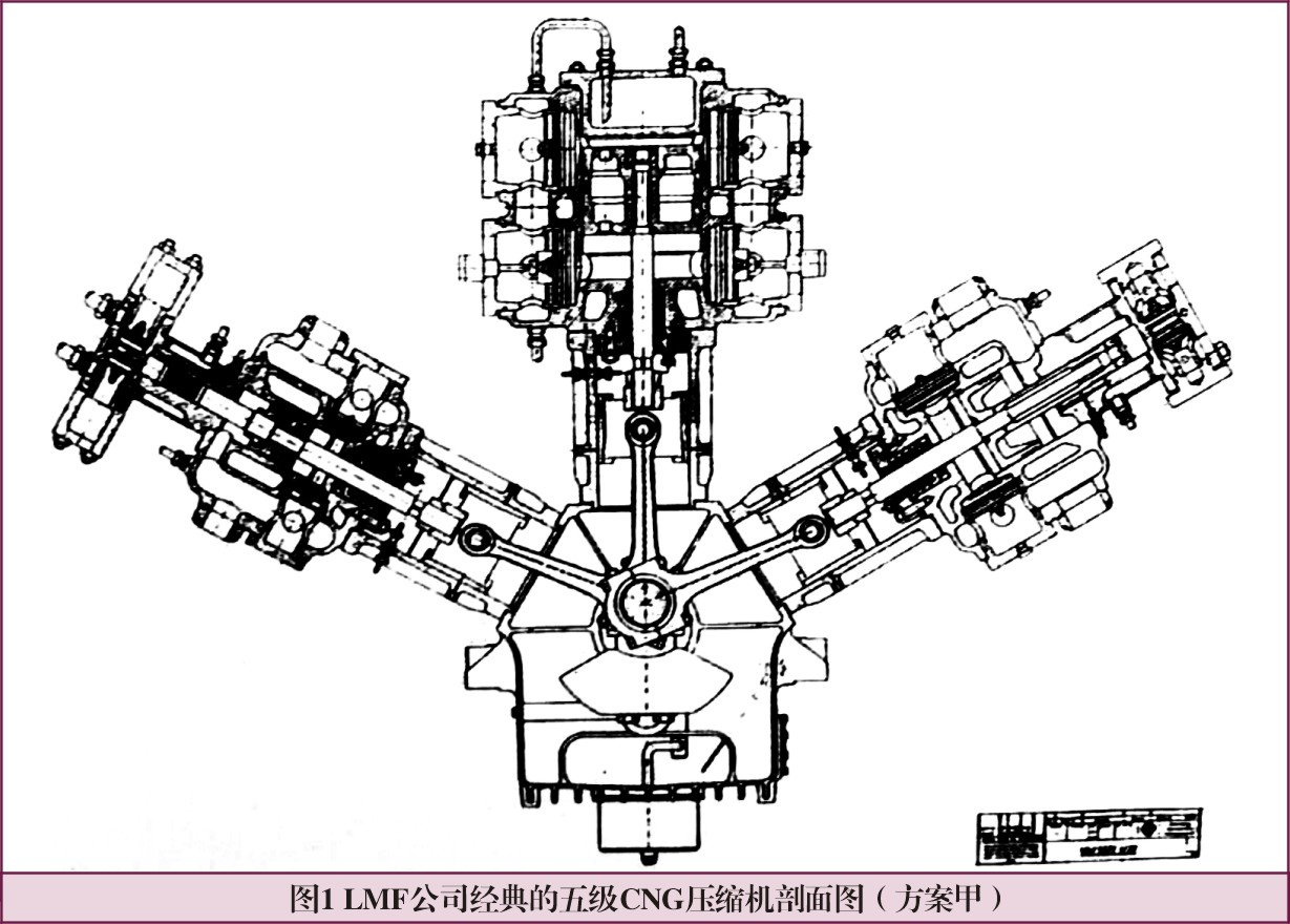 和南欧机相同,她们也是气缸无油润滑的空气/天然气压缩机,故而在气缸图片